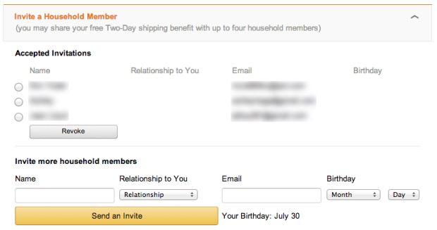 How To Share Amazon Prime Shipping Benefits