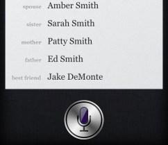 Siri Teach relationships