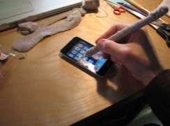 A Diy Soft Stylus For Your Ipad