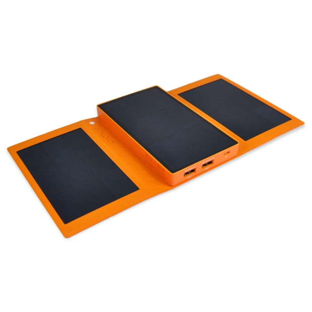 The SolPro Helios solar charger can power up your smartphone in 90 minutes.