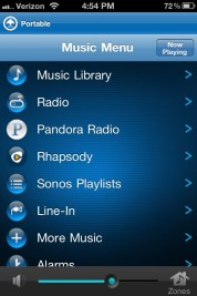 Sonos PLAY3 Review iPhone app