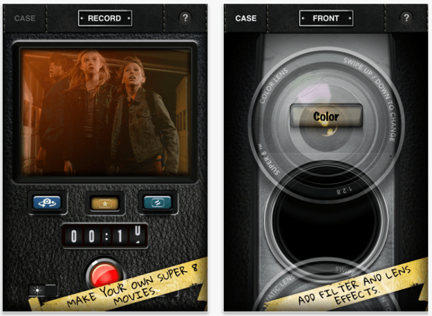 Super 8 iPhone and iPad app