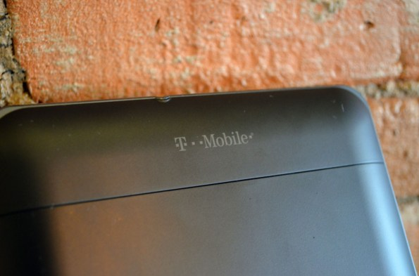 T-Mobile G-Slate Back Top