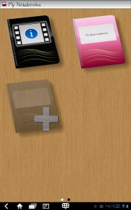 MyScript Notes Mobile Notebooks