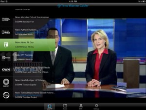 TWCable app for iPad
