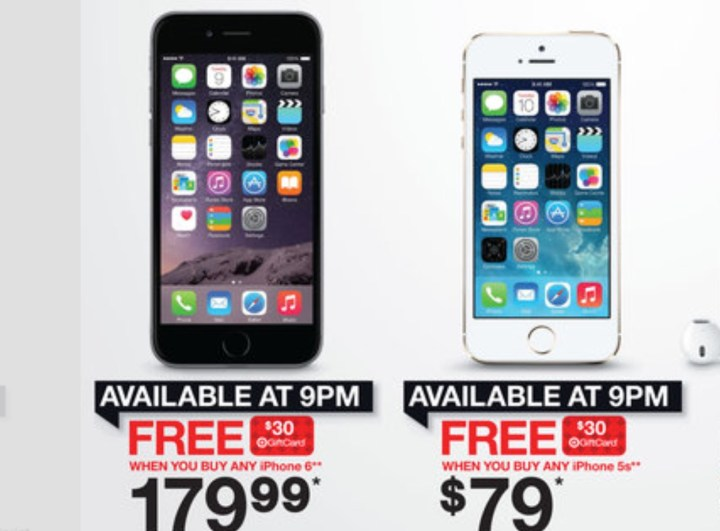 iPhone 6 Black Friday 2014 Deal