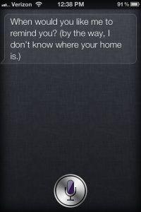 Teach Siri Where You Live and Work