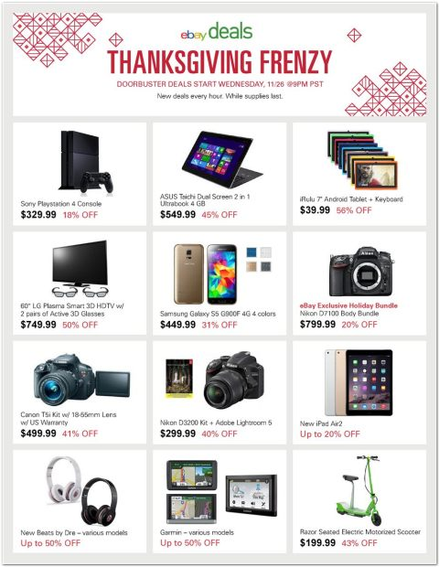 Thanksgiving Deals