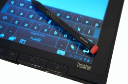 ThinkPad Tablet and Stylus