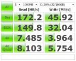 Toshiba Portege z830 SSD benchmark