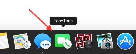 Start FaceTime.