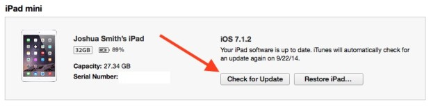 Use this guide to install IOS 8.1 when your phone says there is no storage available.