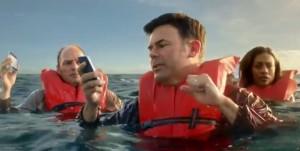 Verizon iPhone 4S Boat ad bashing Sprint