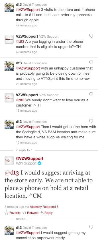 Verizon issues iPhone 4S
