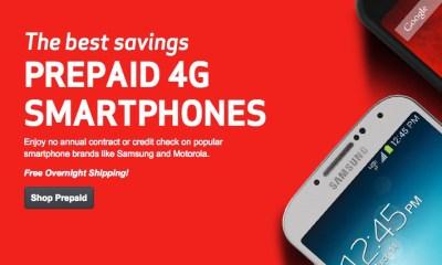 Verizon pre-paid plans