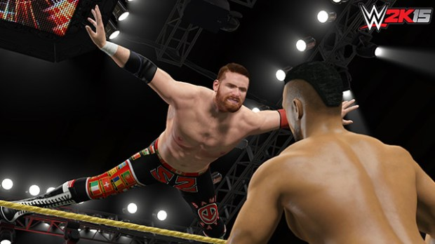 The Xbox One and PS4 WWE 2K15 release includes MyCareer mode while the older consoles gain Who's got NXT.