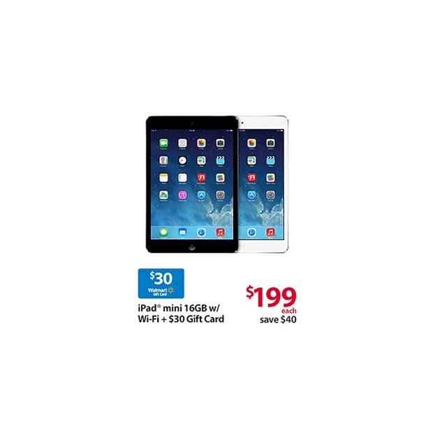 iPad Mini Black Friday Deal at Walmart