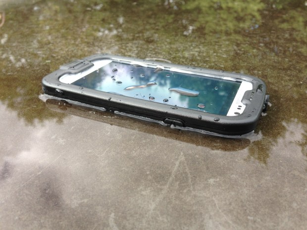 Count on a waterproof Galaxy S6 LifeProof case, and a Galaxy S6 Edge Model. (LifeProof Galaxy S3 case shown).