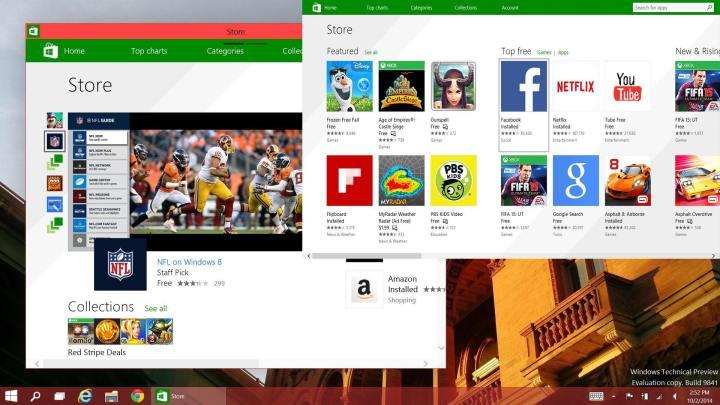Windowed Apps