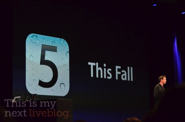 iOS coming This Fall