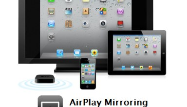 airplay mirroring iPhone 4S and iPad