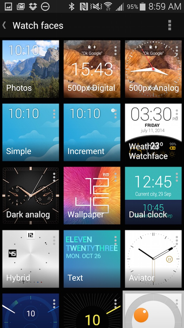 20 Great Android Wear Watch Faces