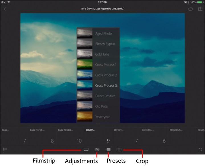 lightroom for mobile filter presets