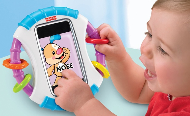 The iPhone case for babies and toddlers