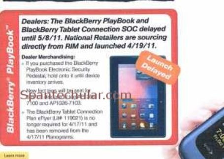 Sprint BlackBerry PlayBook