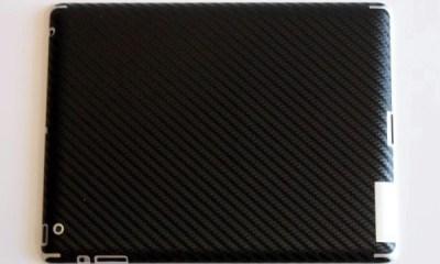 bodyguardz armor carbon fiber ipad skin review