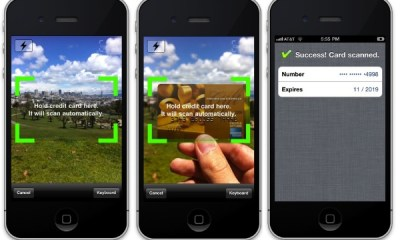 Scan Your Credit Card with an iPhone