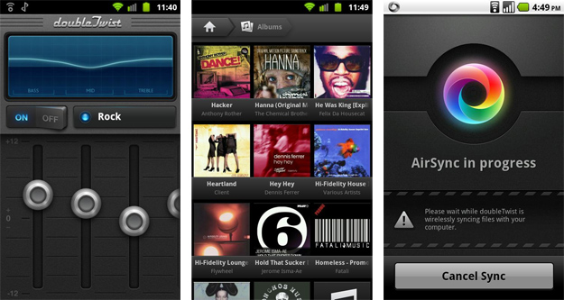DoubleTwist AirSync and Player