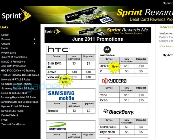 HTC EVO View Release Date