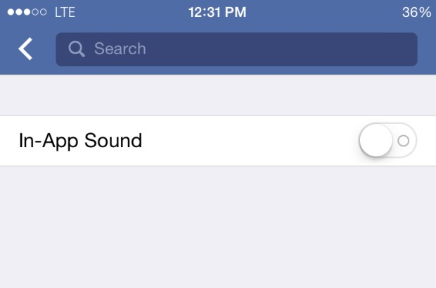 How to Turn Off Sounds in the Facebook iPhone App