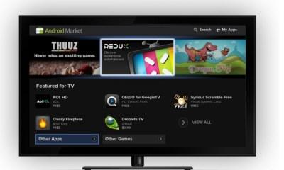 google TV app store