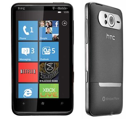 t mobile htc hd7 getting nodo update tomorrow rh gottabemobile com AT&T HTC Windows Phone 7 Old HTC Windows Phone