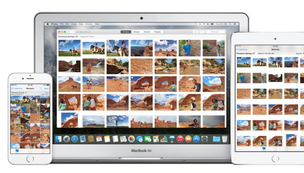 iCloud Photo Library is a big part of Photos, as it keeps your photos synced between all devices.