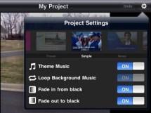 iMovie Theme Selection iPad 2 Review