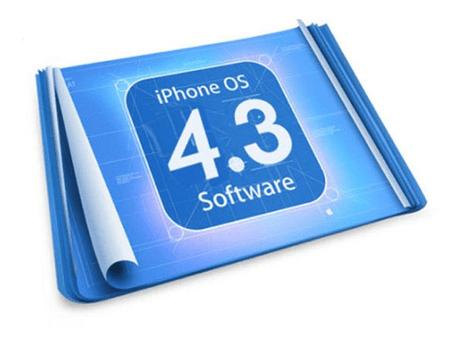 iOS 4.3 logo