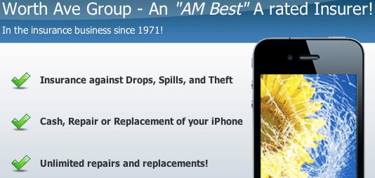 iPhone 4S insurance