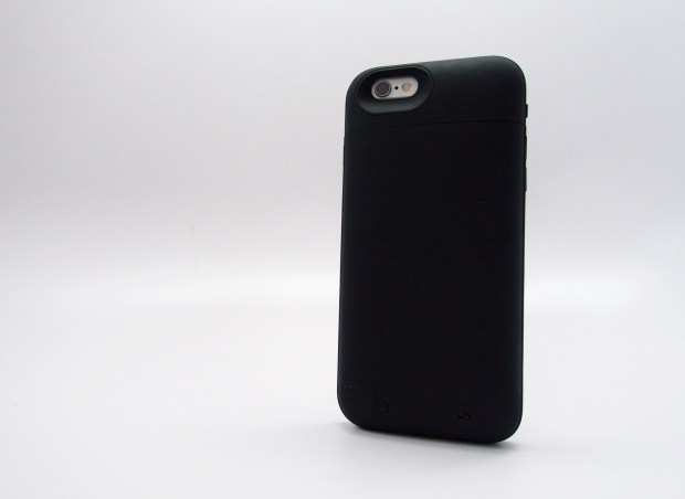 The iPhone 6 Mophie Juice Pack Plus provides power and a lot of protection.