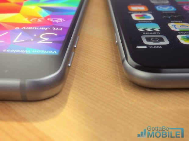 Expect a thin Galaxy S6, thinner than the iPhone 6 Plus.