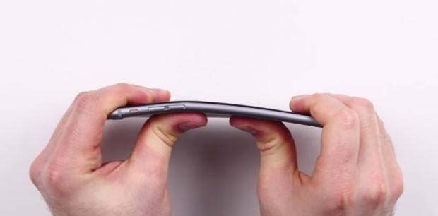 iPhone 6 bending