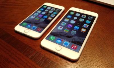 iOS 8.1 on iPhone 6
