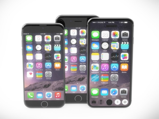 iPhone 7 concepts, including a smart display that changes based on the apps you are using.