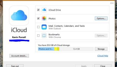 icloud drive on windows