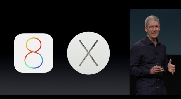 Tim Cook announces the iOS 8.1 release details.