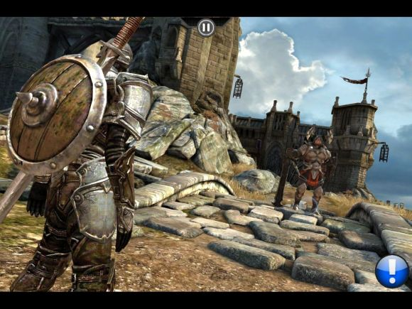 ipad 2 review Infinity blade on ipad 2