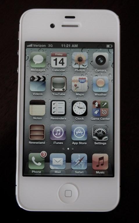 iPhone 4S Display