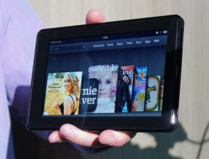 Amazon Kindle Fire landscape